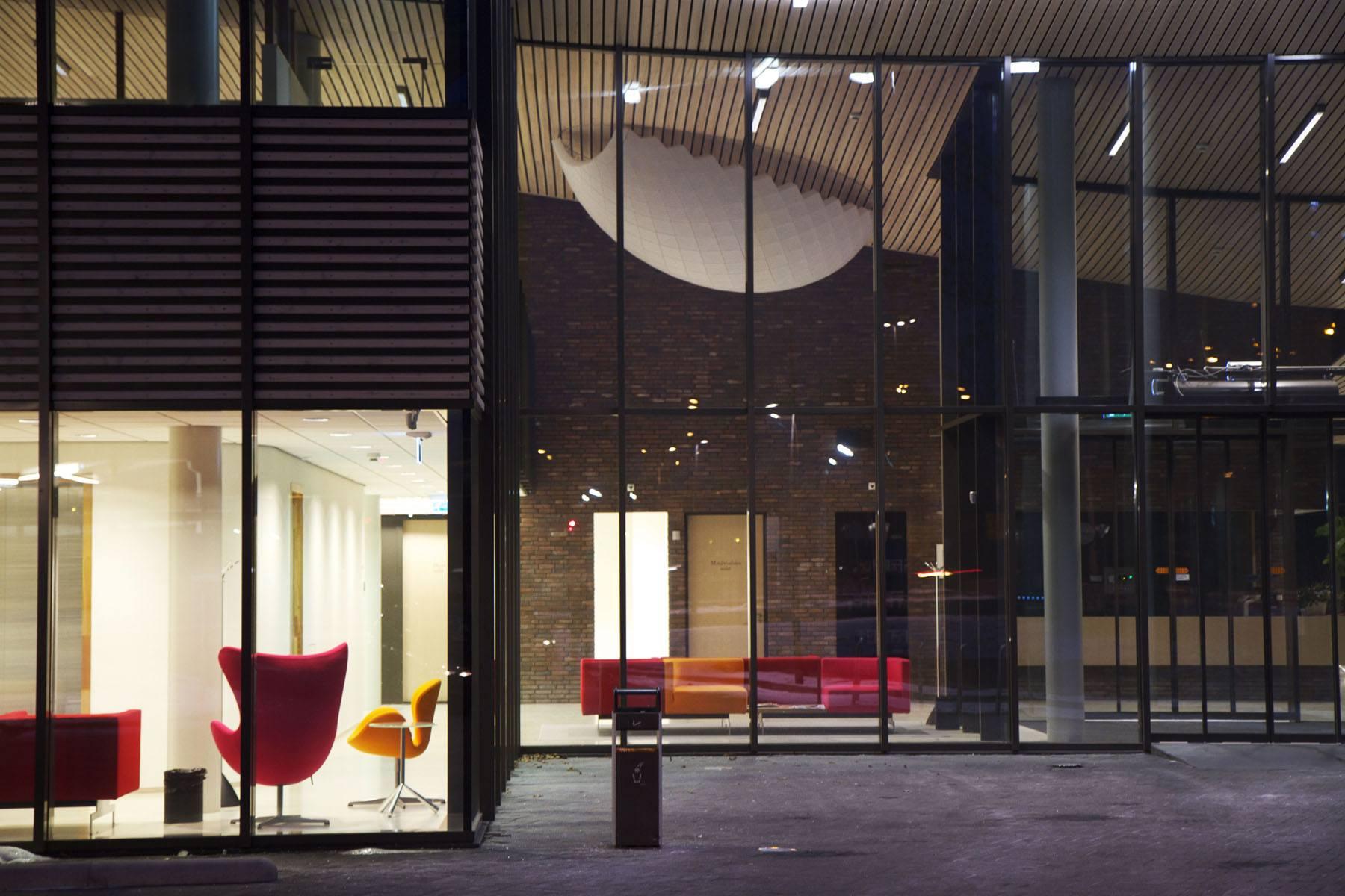 Den Bosch / Instituut Verbeeten / 2012 - Lichtkunstwerk