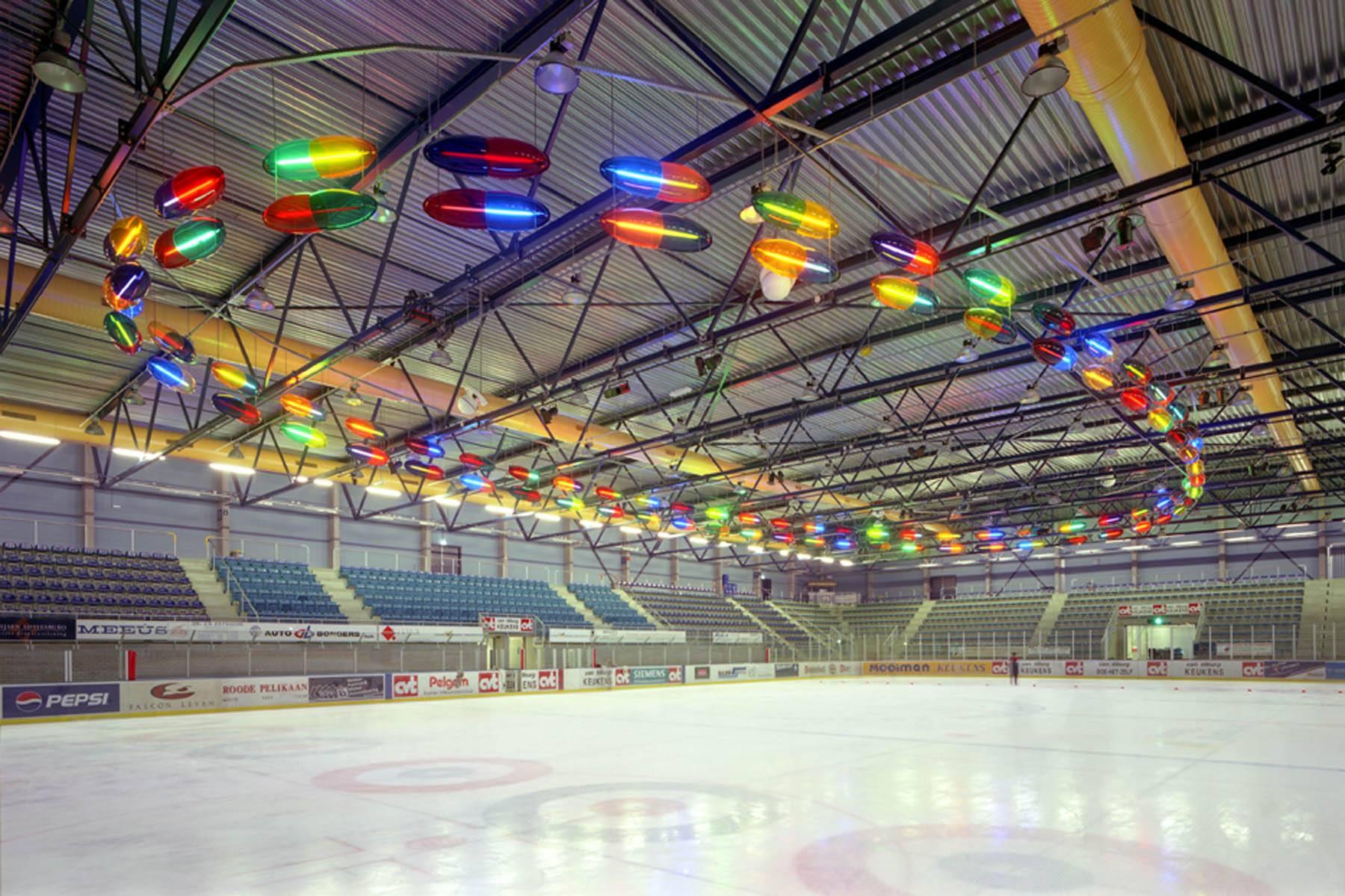 Lightart IJssporthal Tilburg, 2000