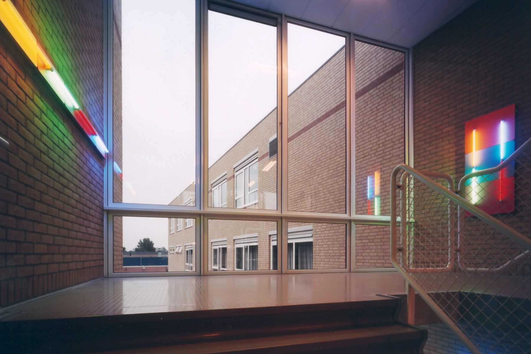 Lichtkunstwerken Pascal College, Apeldoorn