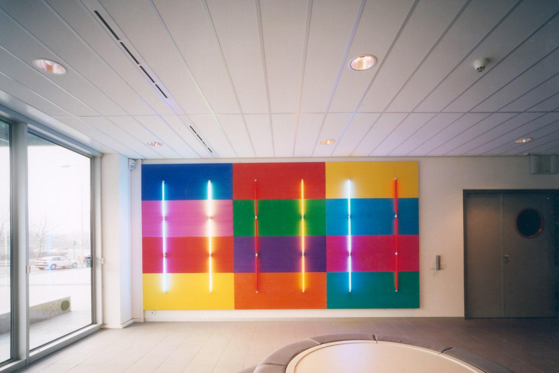 Lichtkunstwerk Belastingkantoor Heerlen, 1996