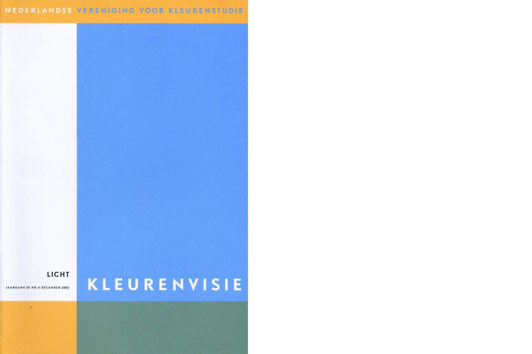 Vereniging van kleur - Nederlandse vereniging voor kleurenstudie