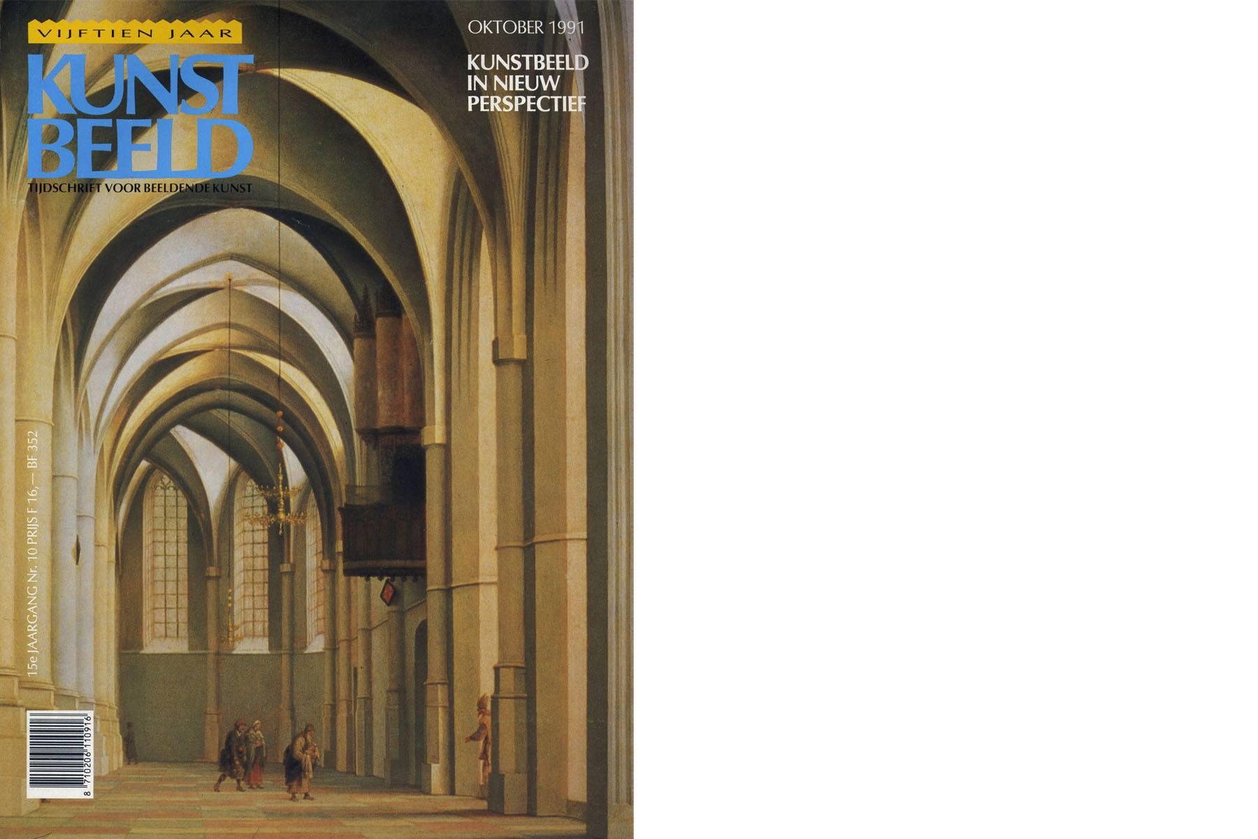 Kunst Beeld - Tijdschrift voor beeldende kunst - Oktober 1991