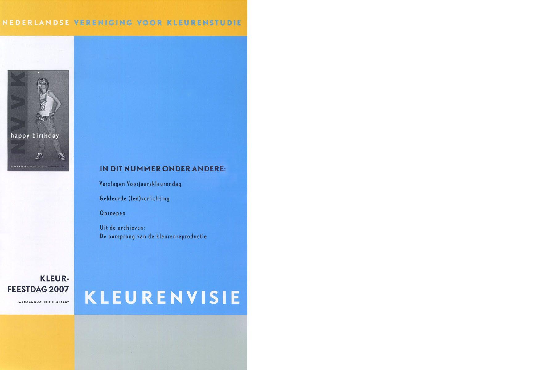 Vereniging van kleur - Lichtend kunstwerk Herman Kuijer