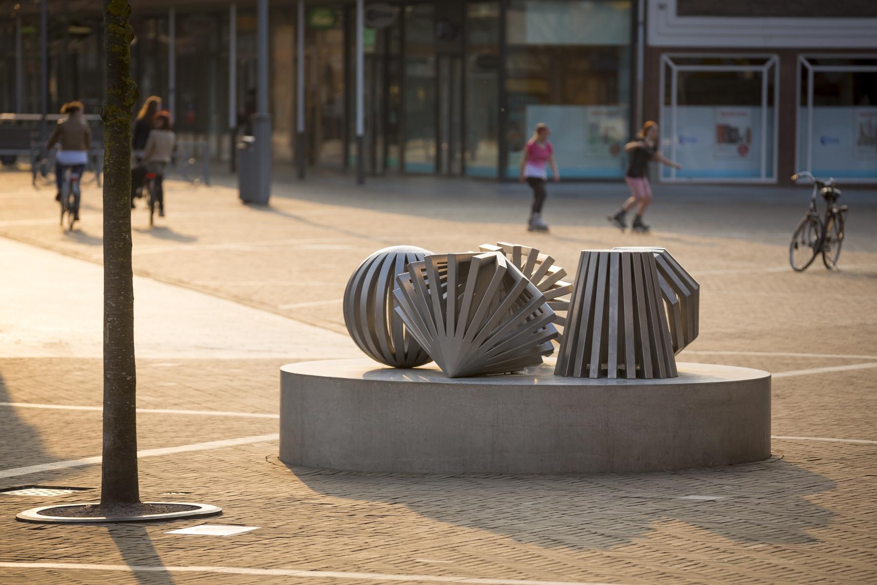 Emmeloord / Kettingplein- Lichtkunst